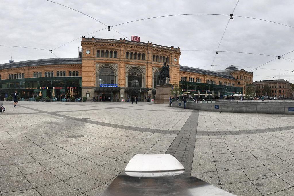 Panoramaaufnahme Hannover Hauptbahnhof