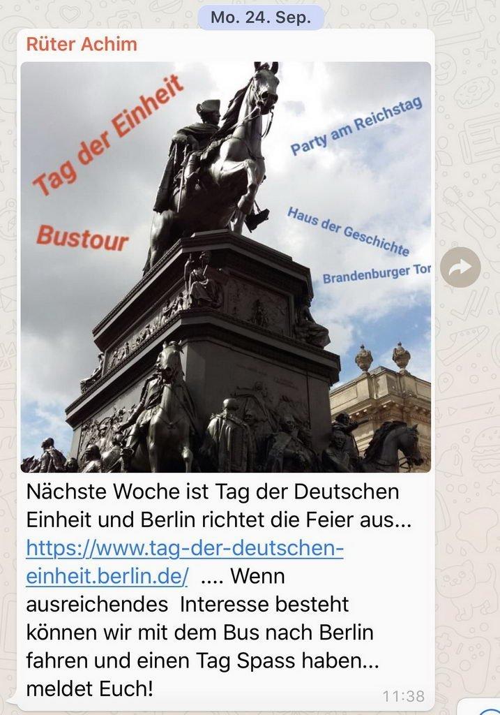 Berlinbesuch mit DRK OV Lehrte - whatse von Achim