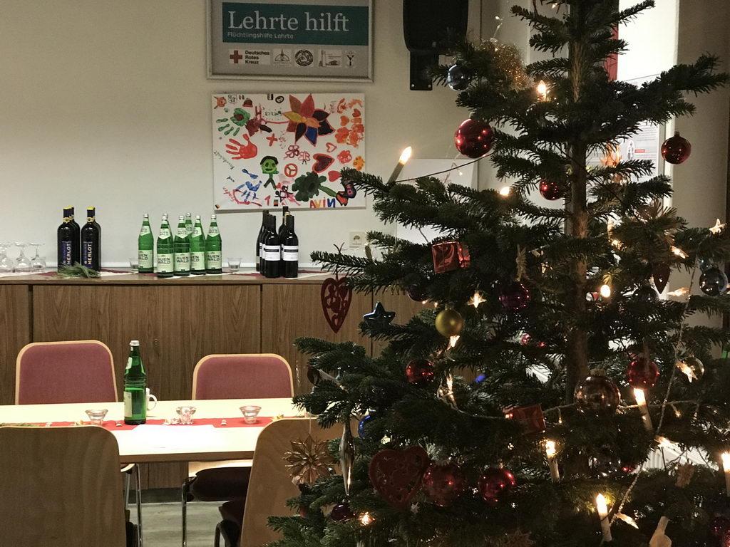 Weihnachtsfeier Lehrte hilft im DRK