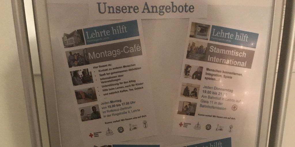 letztes Montagscafe Lehrte hilft in 2018