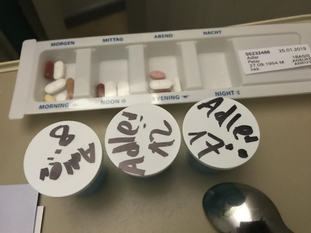 erste Medikamente Agnes-Karll-Krankenhaus