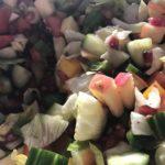 kochen mit Freunden - Salat