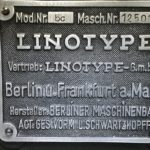 Linotype-Satz