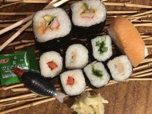 Sushi am Abend