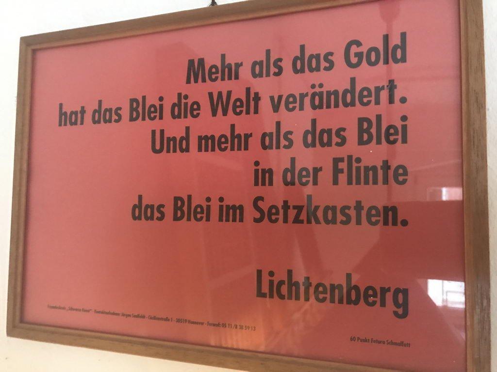 Zitat Lichtenberg
