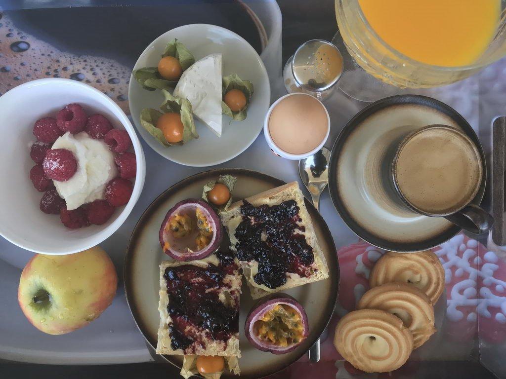 vorher Frühstück