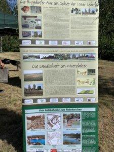 Infotafel Geschichte Burgdorfer Aue und Landschaft Mittelalter