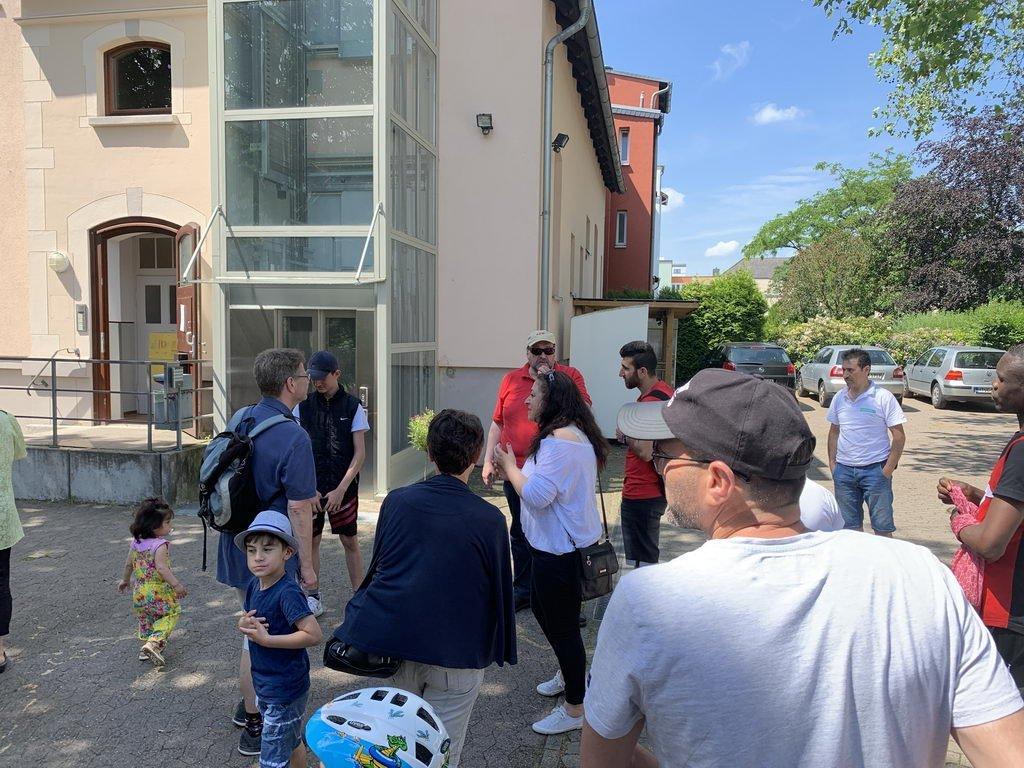 Pfingstpicknick 2019 im Stadtpark Lehrte - Treffen beim DRK Lehrte