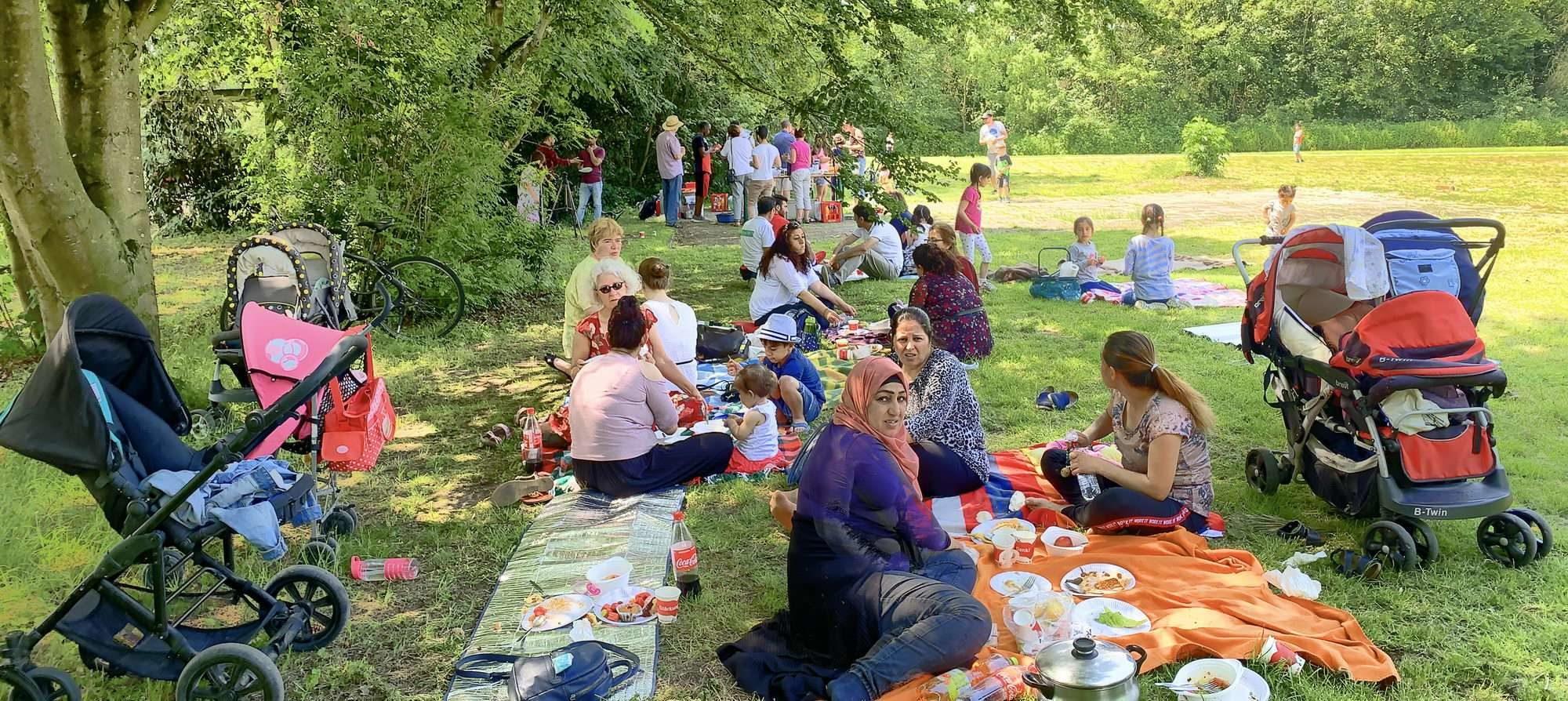 Pfingstpicknick 2019 im Stadtpark Lehrte