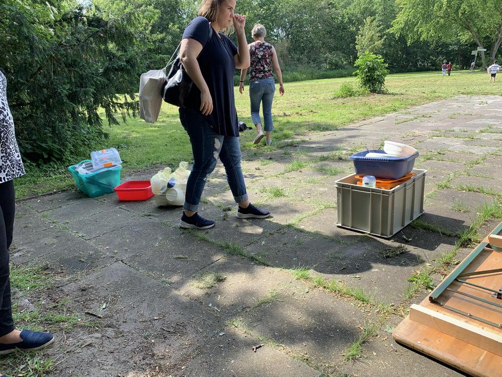 Pfingstpicknick 2019 im Stadtpark Lehrte - Platz aufgeräumt