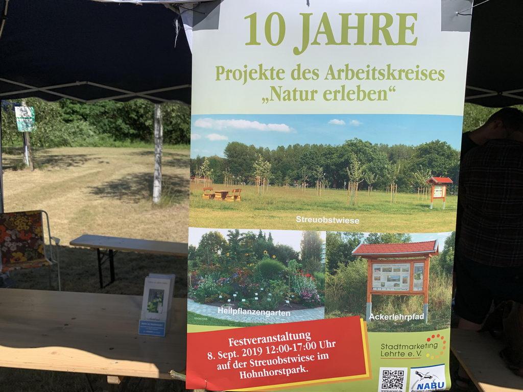 Plakat Streuobstwiesenfest September