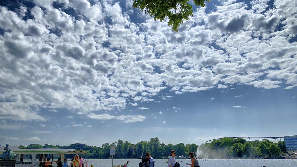 Schwimmen und Maschsee-Rundfahrt in Hannover