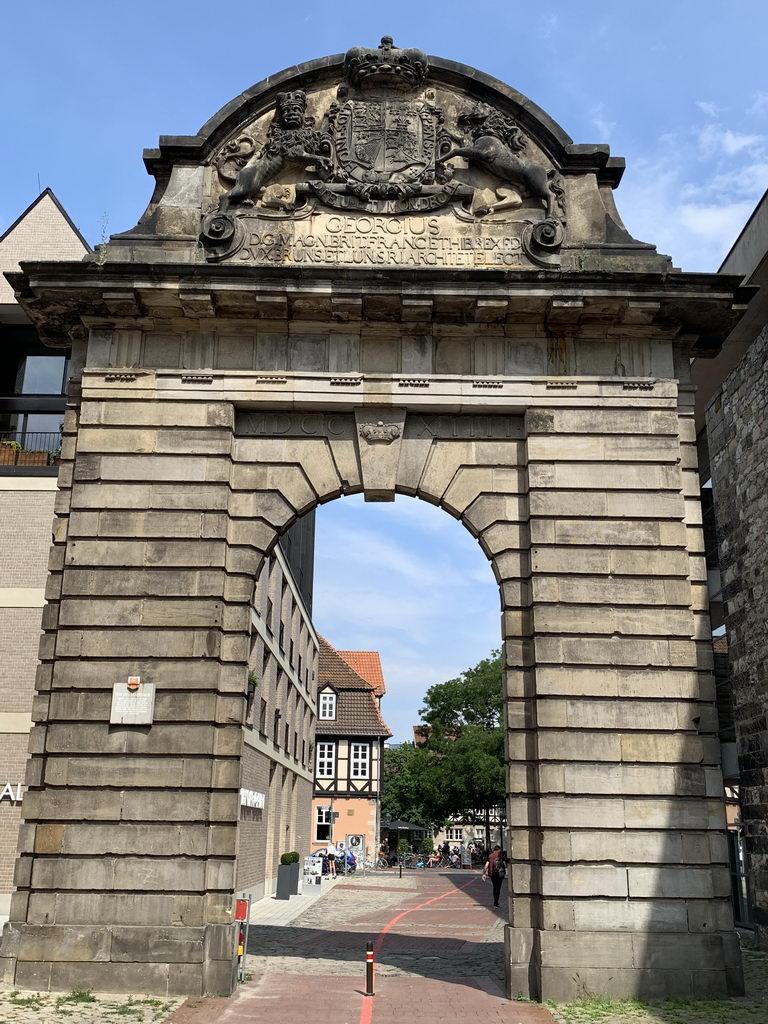 Altstadt Hannover - Blick durch Marstalltor