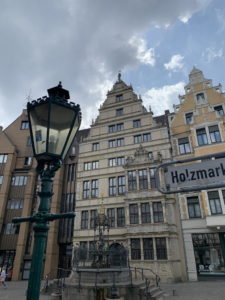 Altstadt Hannover - am Holzmarktbrunnen
