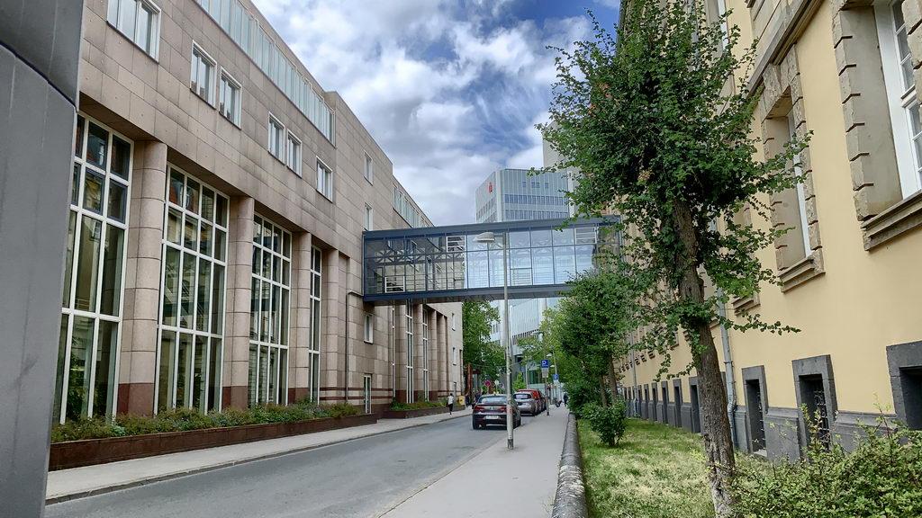 Hannover Tivolistrasse - auf Heimweg meines ehemaligen Arbeitsweges