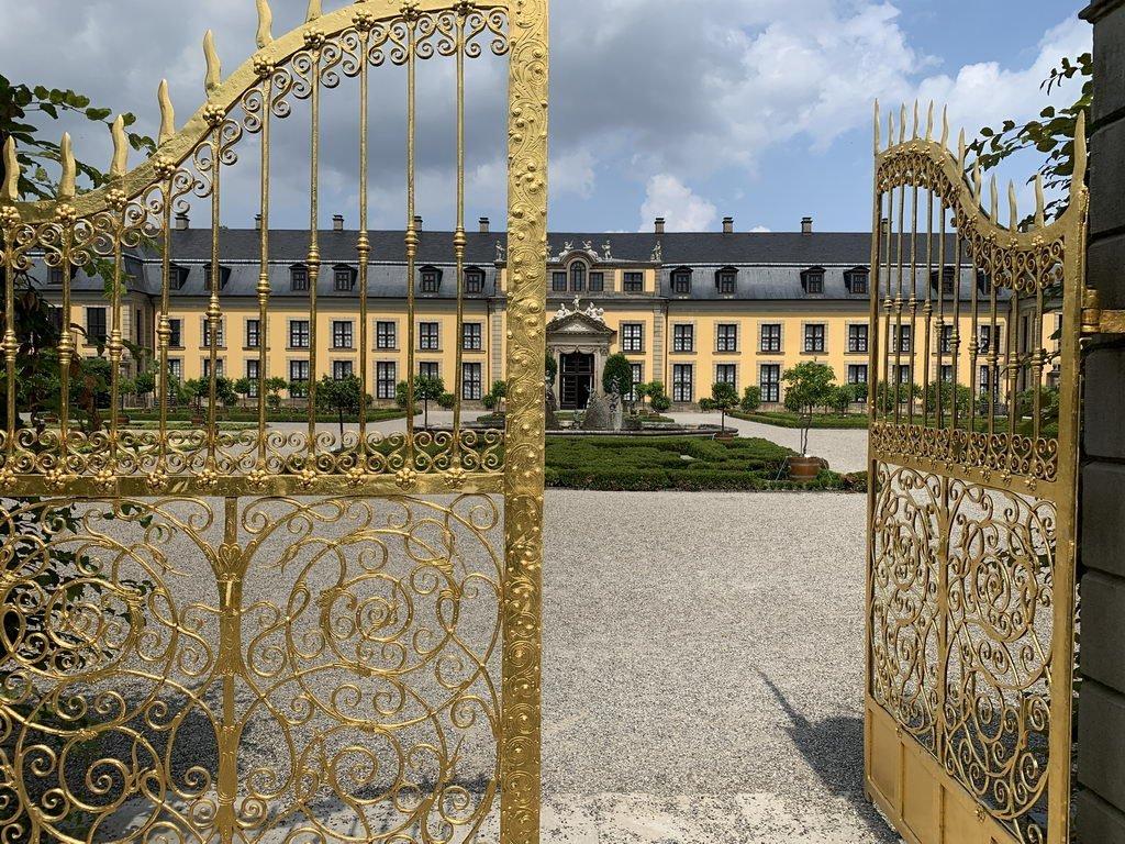 Herrenhäuser Garten - Blick auf Orangerie