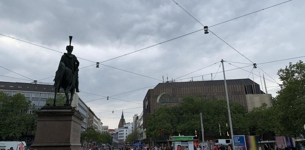 Nachmittags am Hauptbahnhof Hannover