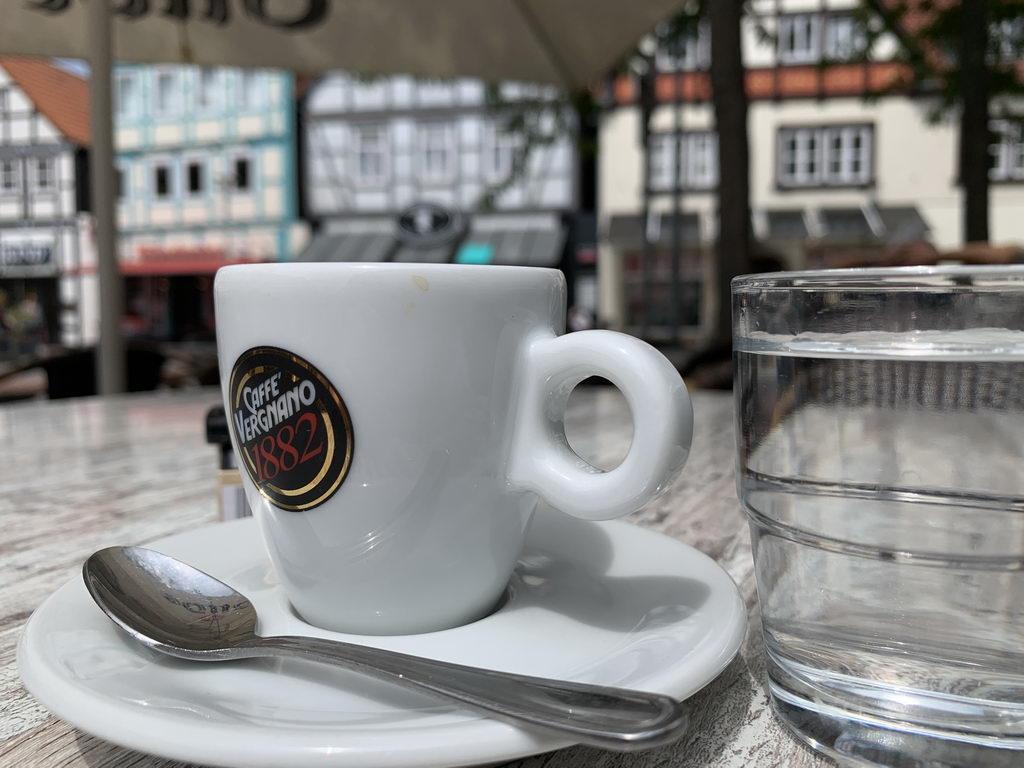 nach Mittagessen Espresso Altstadt Burgdorf