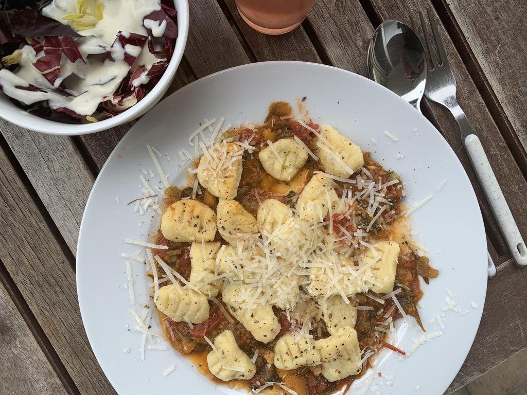 Kartoffel-Gnocchi - angerichtet