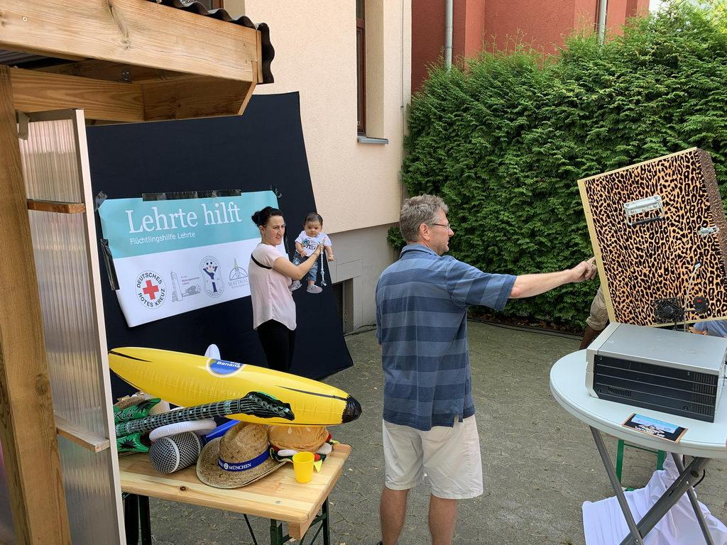 Sommerfest 2019 mit DRK OV Lehrte - Fotobox
