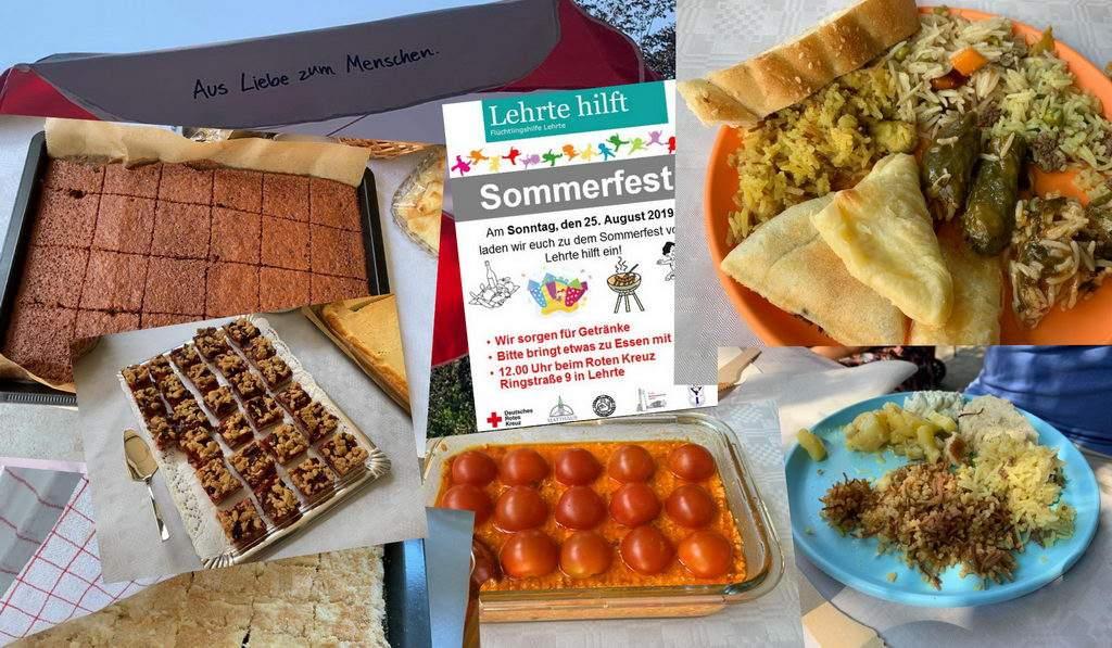 Sommerfest 2019 mit DRK OV Lehrte
