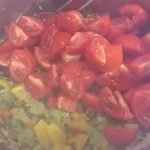 Tomaten-Sugo - Tomaten Paprika