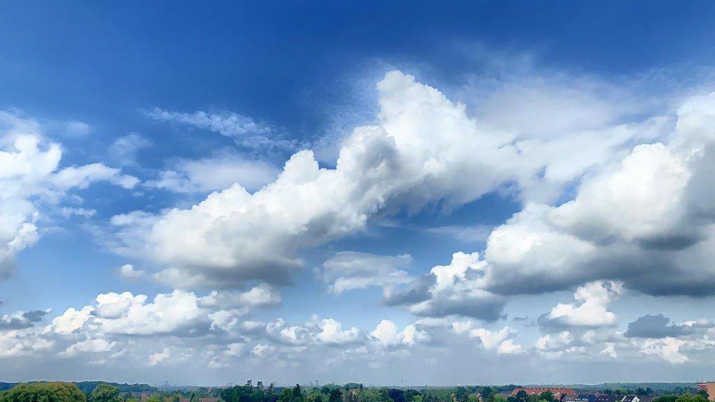 Wolkengedöns Lehrte im August