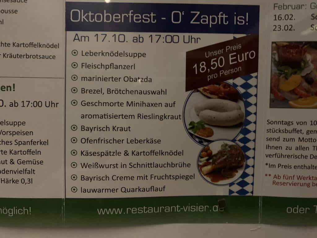 Oktoberfest Stadtmarketing Lehrte