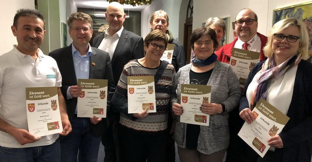 Verleihung Ehrenamtskarte Lehrte hilft