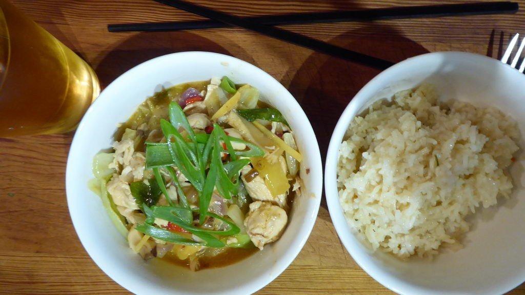 Curry-Geschnetzeltes süß-sauer-scharf
