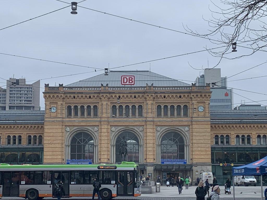 am Hauptbahnhof Hannover