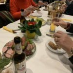 Neujahrsempfang - essen und trinken