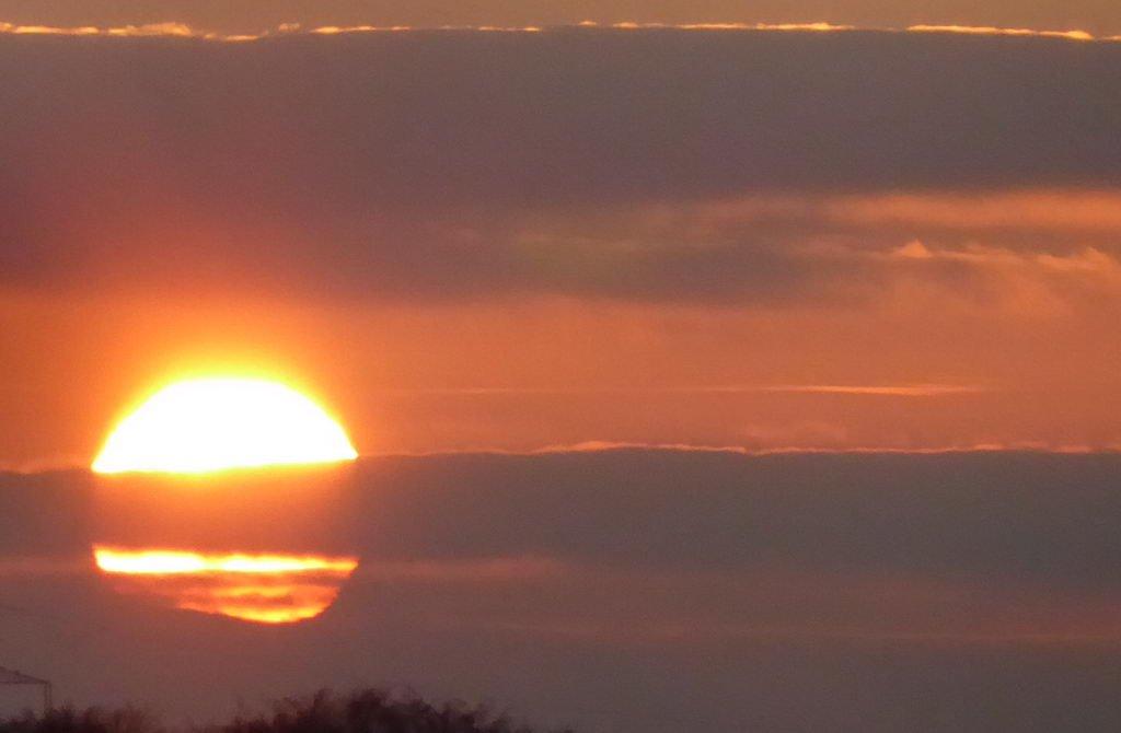 Sonnenuntergang Lehrte