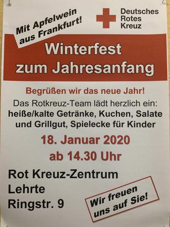 Winterfest DRK - Plakat