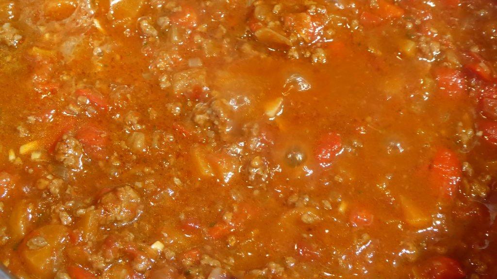 Spaghetti Bolognese - lange kochen