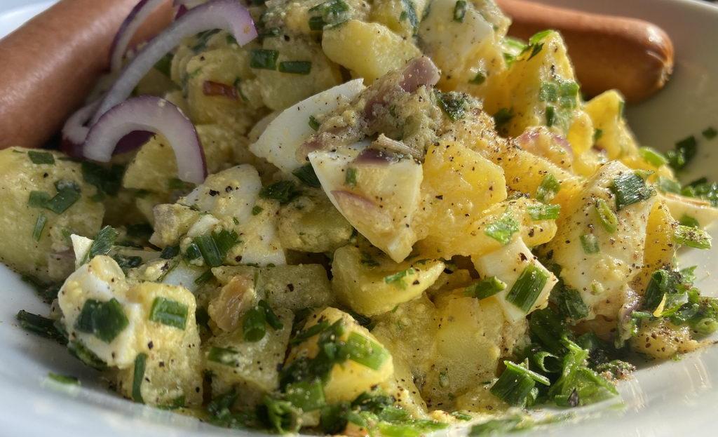 Kartoffelsalat mit Schnittlauch-Vinaigrette
