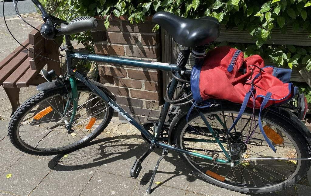 unterwegs in Lehrte - Fahrrad
