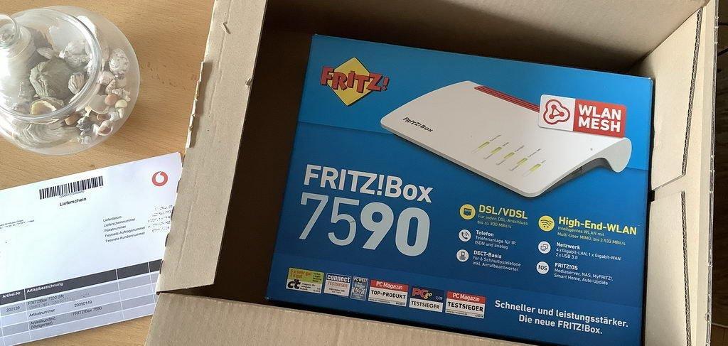neue FritzBox 7590