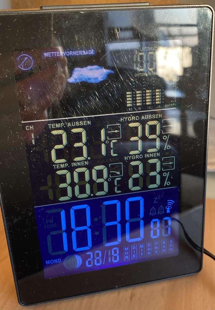 Hitze im September