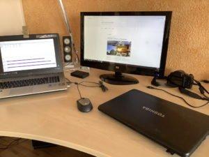 Laptop eingerichtet - alt-neu