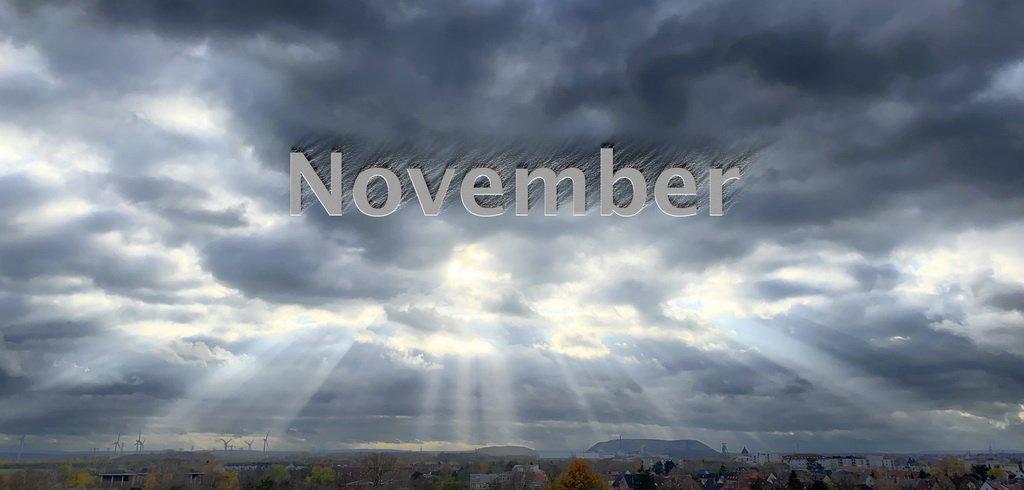 Novemberwetter