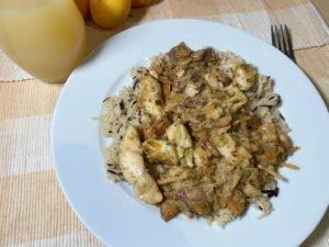 Fisch-Curry mit Basmati-Wildreis 13-12