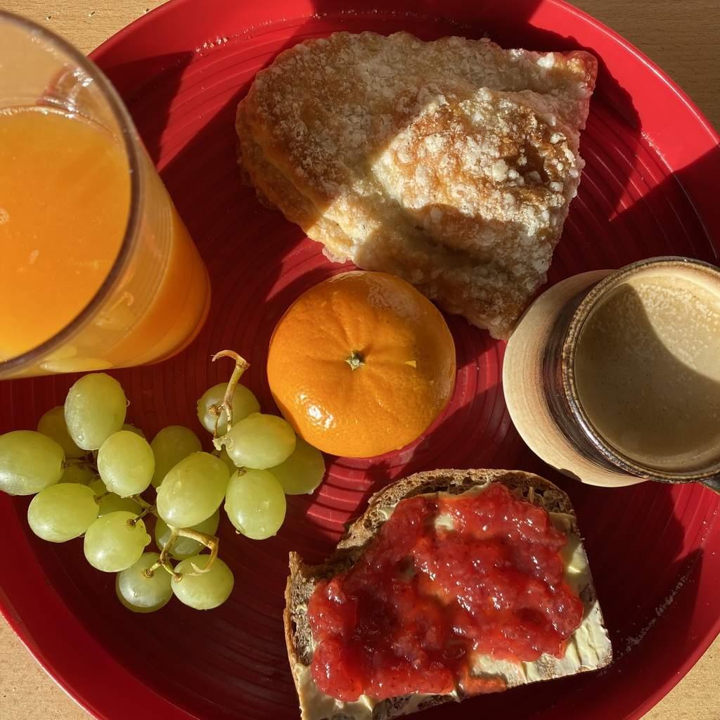Sonntägliches verspätetes Frühstück