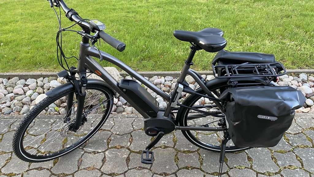E-Bike fertig
