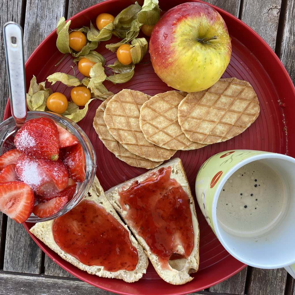 Frühstück vorweg