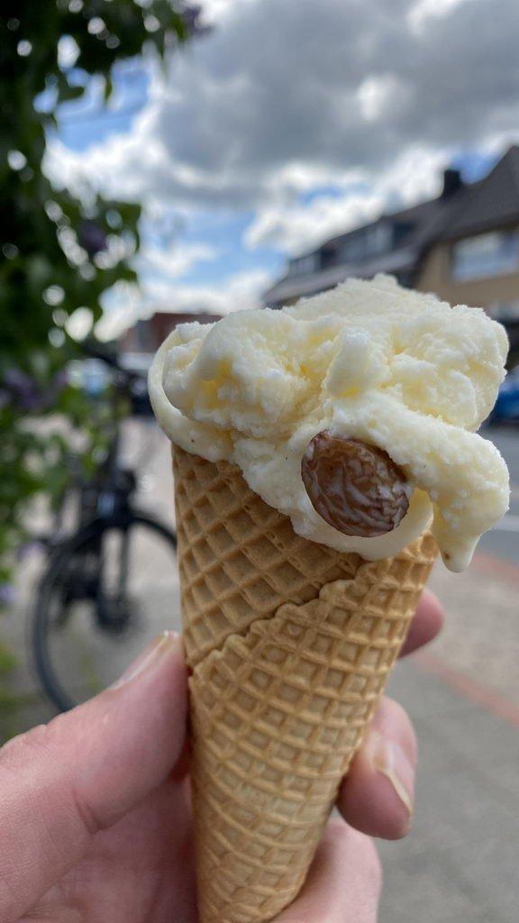 mit E-Bike Kolshorn - Aligse - Lehrte - legggaaa Eis