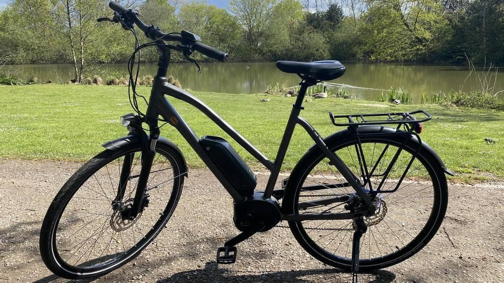 neues E-Bike - Probefahrt vor Kauf im Stadtpark Lehrte