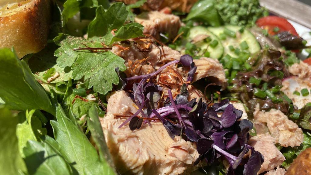 Salat mit alles