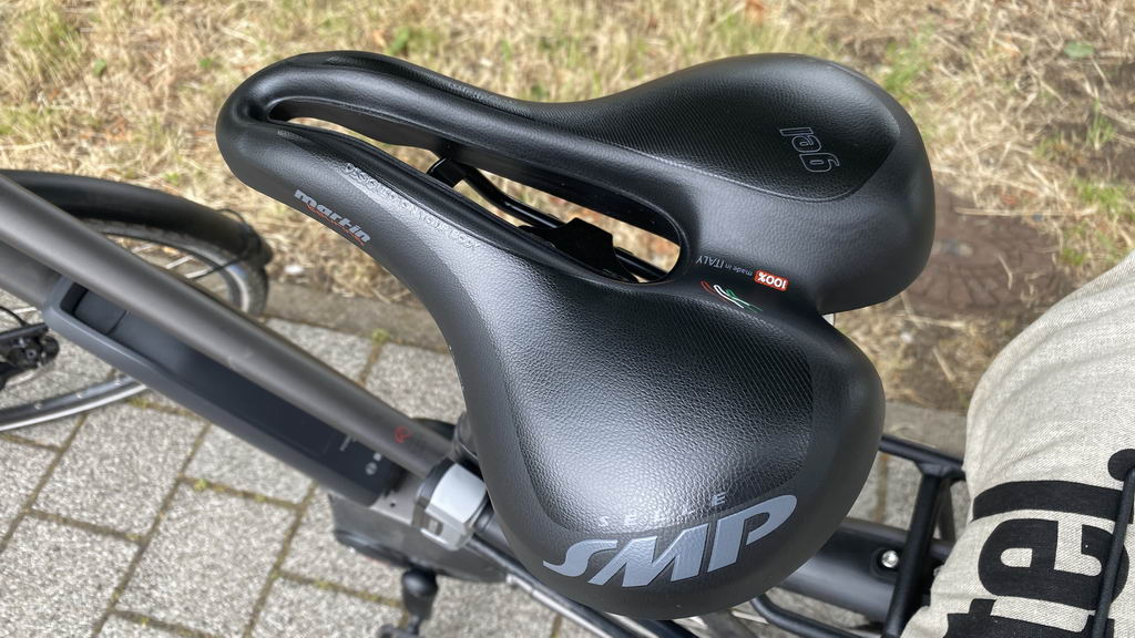 23-06 testweise neuer Sattel E-Bike