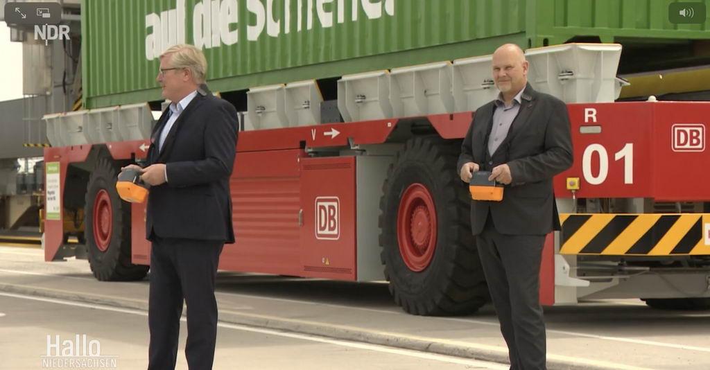 Megahub in Lehrte: Bahn eröffnet neuen Containerbahnhof